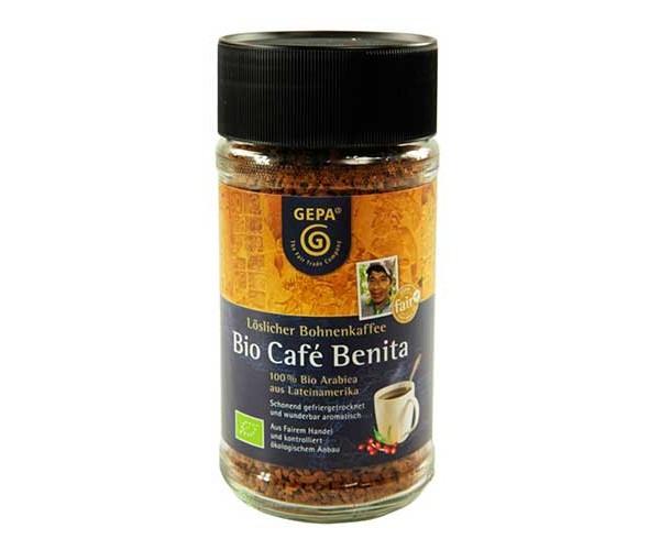 Café ecológico descafeinado Benita/ Ideas Comercio Justo
