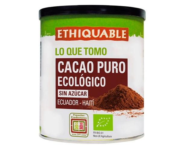 Cacao Puro Ecológico sin azúcar / Ideas Comercio Justo