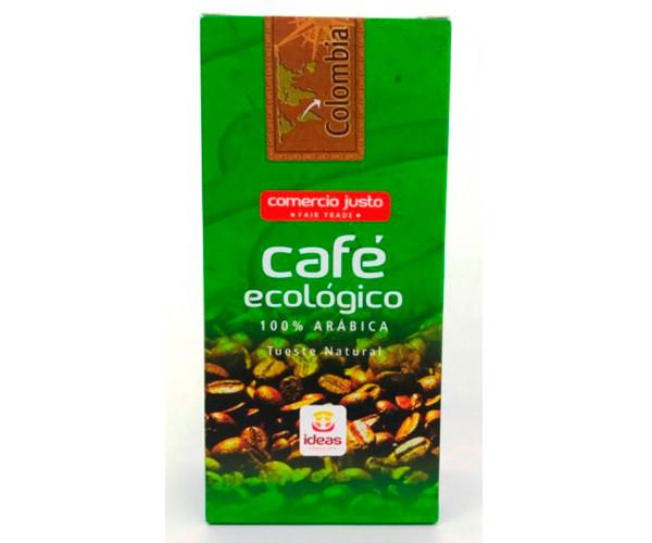 Café de colombia ecológico molido / Ideas Comercio Justo