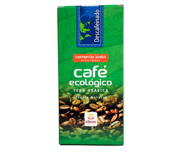 Café ecológico descafeinado de Perú / Ideas Comercio Justo