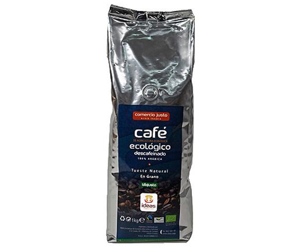 Café en grano descafeinado ecológico / Ideas Comercio Justo