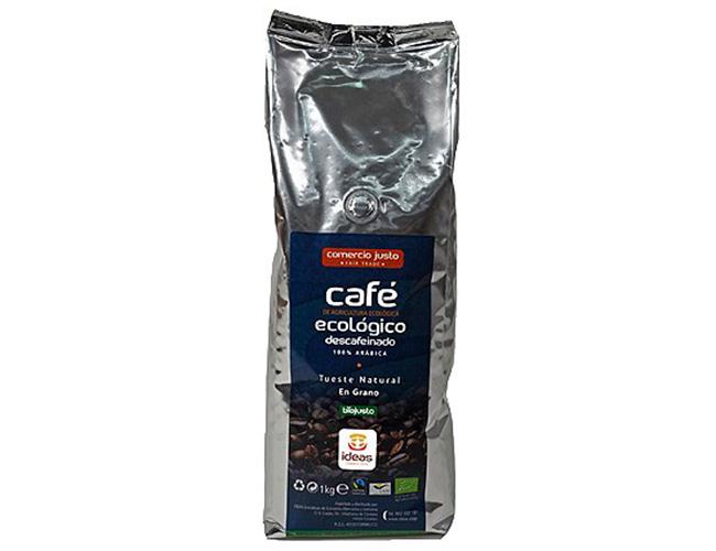 Café arábica descafeinado ecológico en grano de Perú