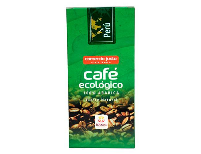 Café molido ecológico de Perú