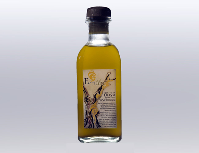 Aceite de oliva virgen extra ecológico | Frasca 500 ml.