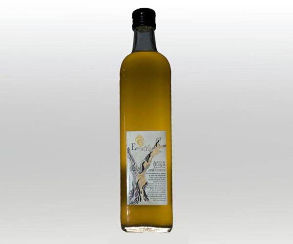 Aceite de oliva extra ecológico Cristal 750 ml / Enclave de oliva