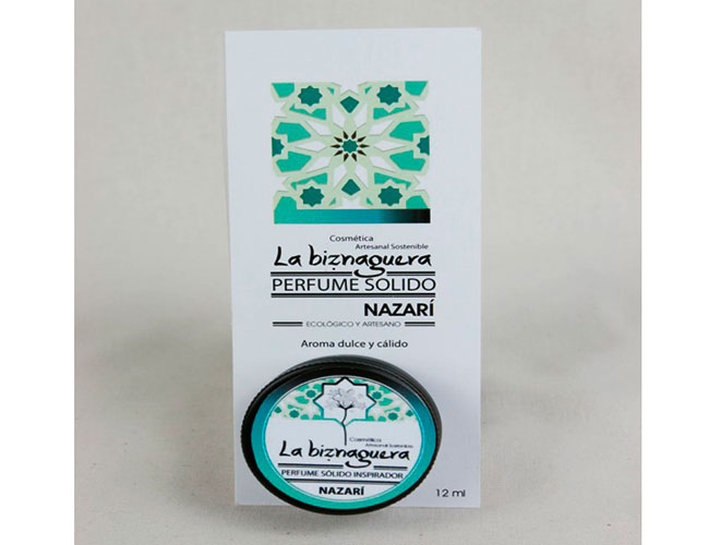 Perfume sólido nazarí | 12 ml