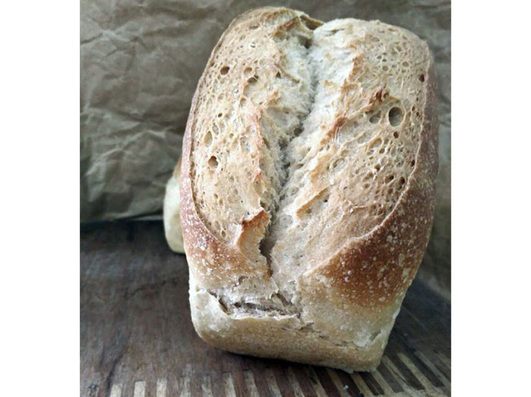 Pan blanco de trigo