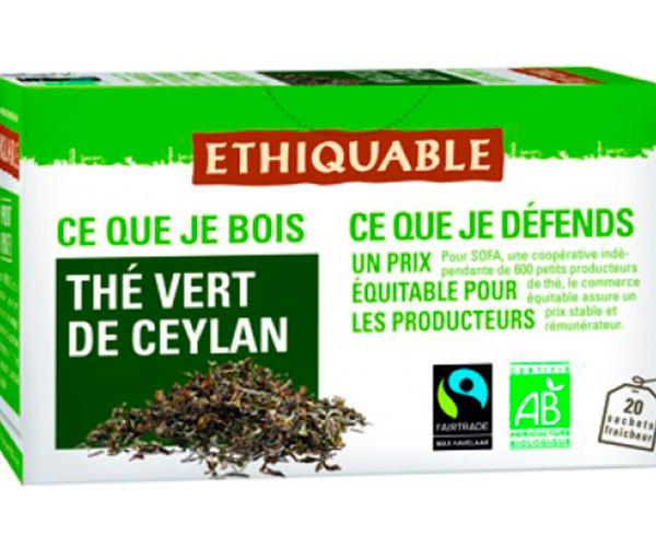 Té verde de Ceilan ecológico / Ideas Comercio Justo